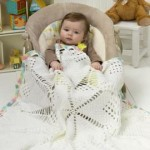 Doily Baby Blanket ~ Red Heart