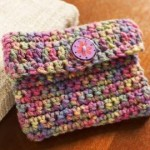 Crochet Change Purse by Bobbi Anderson for Red Heart
