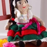 Alejandra's Party Doll ~ Michele Wilcox – Red Heart