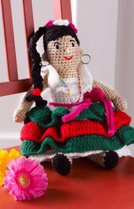 Alejandra's Party Doll ~ Red Heart