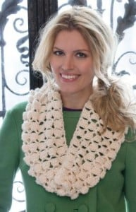 Infinite Shells Cowl by Wendy Lewis for Red Heart