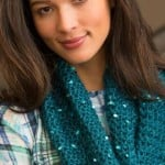 Classy Crochet Cowl by Lorna Miser for Red Heart
