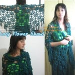 Lacy Flower Shawl ~ Meladora's Creations