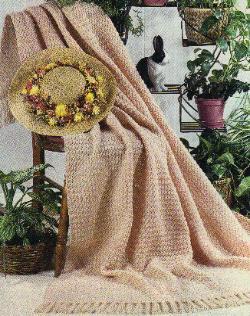 Crochet Lightweight Afghan by MomsLoveOfCrochet