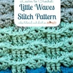 Little Waves Stitch Pattern ~ Moogly