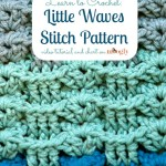 Little Waves Stitch Pattern by Moogly