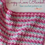 Loopy Love Blanket ~ Moogly