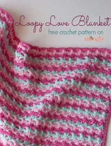 Loopy Love Blanket ~ Moogly