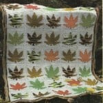 Maple Leaf Afghan by MomsLoveOfCrochet.com