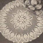 New Pineapple Doily ~ MomsLoveOfCrochet.com