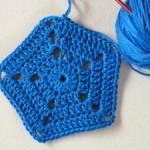 Expanding Pentagon Motif ~ Crochet Spot