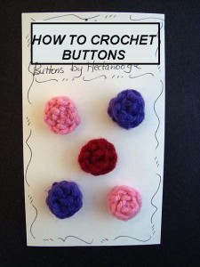 How to Crochet Easy Buttons ~ Hectanooga - CraftBits