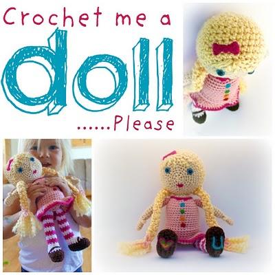 Crochet Me A Doll ~ Easy Makes Me Happy