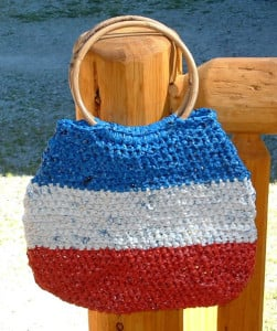 All American Plarn Bag by My Recycled Bags