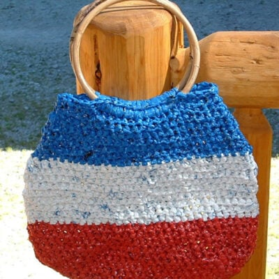 All American Plarn Bag ~ My Recycled Bags