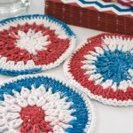 Stars and Stripes and Clusters Mini Mandala ~ Moogly