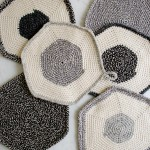 Crocheted Set-of-Three Pot Holders by The Purl Bee