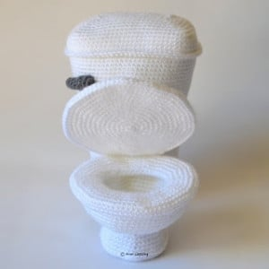 The Toilet No. 2 by Kim Lapsley Crochets