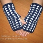 Birds of a Feather Finger – less Gloves ~ Meladora's Creations