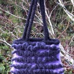 A Lot A Ruffles Felted Bag by Suzies Stuff