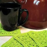 Amazing Grace Summer Crochet Coaster Set ~ Beatrice Ryan Designs