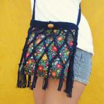 Floral Fringe Bag ~ Gleeful Things