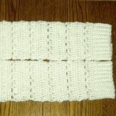 Crochet Bernat Satin Legwarmers by CrochetN'Crafts