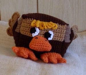 Brown Sugar Blockety Ducky Baby Rattle and Toy ~ Craftybegonia's Funmigurumi and Kid's Stuff
