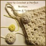 Crochet Button by CrochetN'Crafts