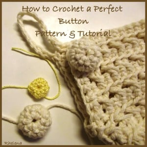 Crochet Button by CrochetN'Crafts