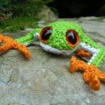 Tree Frog ~ Roman Sock