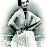 Crocheted Cape Stole by Free Vintage Crochet