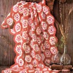 Loop Stitch Motif Afghan ~ Free Vintage Crochet