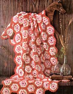 Loop Stitch Motif Afghan by Free Vintage Crochet