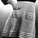 Crocheted Apron ~ Free Vintage Crochet