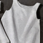 Baby Slip Edging ~ Free Vintage Crochet