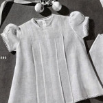 Baby Dress Edging ~ Free Vintage Crochet