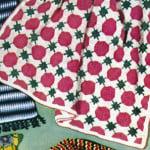 Mardi Gras Afghan ~ Free Vintage Crochet