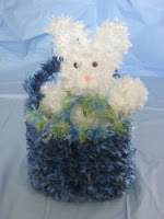 Bunny in a Basket by Donna's Crochet Designs