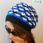 Hypnotic Heart Slouch Hat ~ My Hobby is Crochet