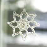 Grandma Jennie's Snowflake Pattern: Part 1 ~ Petals to Picots