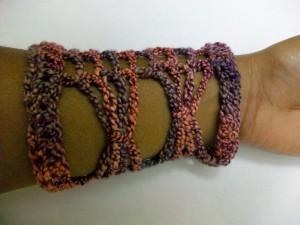 Butterfly Net Wristers ~ Crochet Spot