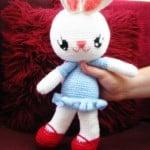 Bunny Love Amigurumi ~ Jenny and Teddy