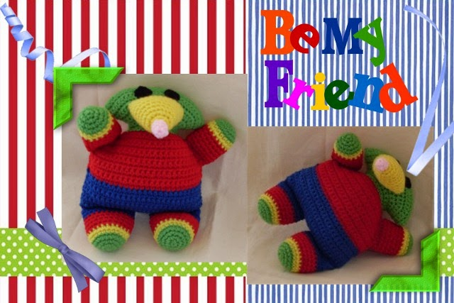 Funmigurumi Cuddlers: Diggler the Mole ~ Craftybegonia's Funmigurumi and Kids' Stuff