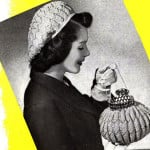Match Mates Hat and Bag Set ~ Free Vintage Crochet