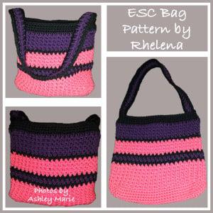 ESC Bag or Purse ~ CrochetN'Crafts