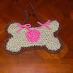 Dog Bone Shaped Poo Bag/Purse by Sara Sach of Posh Pooch Designs