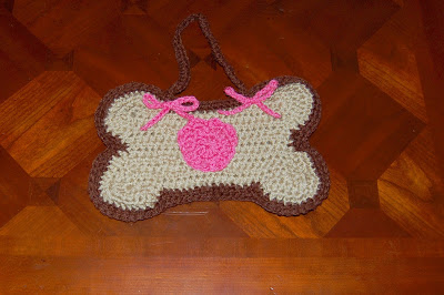 Dog Bone Shaped Poo Bag/Purse by Sara Sach of Posh Pooch Designs