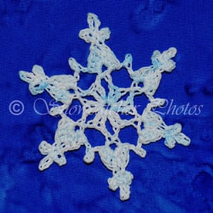 Top of the Stack Snowflake by Snowcatcher