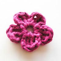 Flower #3 by Annemarie's Crochet Blog